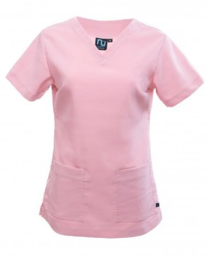 PULL OVER NECK- SIDE POCKET SHORT SLEEVE