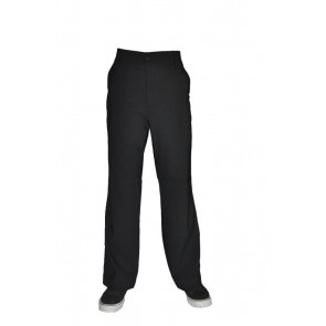 MEN DRESS PANT WITH ZIPPER CLOSURE
